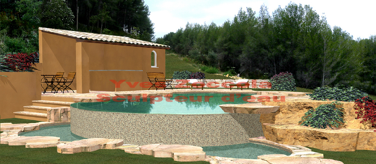 Piscine piscines formes libres for Piscine forme libre